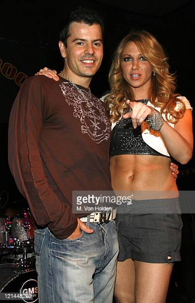 Jordan Knight and Deborah Gibson during Jordan Knight and Special Guest Deborah Gibson Perform at the Cutting Room in New York August 8 2006 at The...