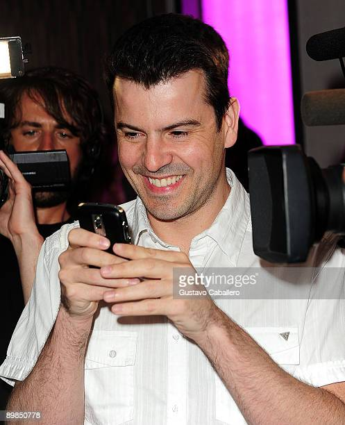 Jordan Knight arrives at Danny Woods of New Kids On The Block birthday party to benefit Susan G Komen for the Cure foundation at LIV nightclub at...