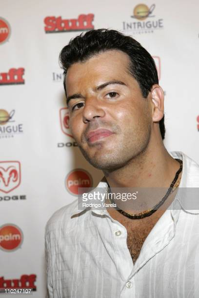 Jordan Knight during 2005 MTV VMA Stuff Magazine Party Arrivals at Sagamore Hotel in Miami Beach Florida United States