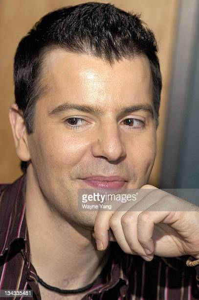 Jordan Knight during Deborah Gibson and Jordan Knight Recording Session at Tainted Blue Studios March 14 2006 at Tainted Blue Studios in New York New...