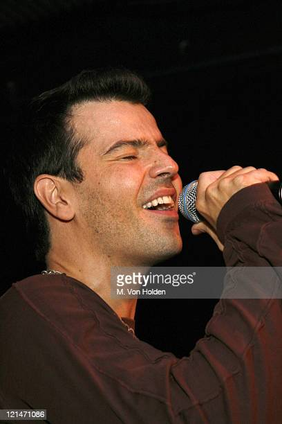 Jordan Knight during Jordan Knight and Special Guest Deborah Gibson Perform at the Cutting Room in New York August 8 2006 at The Cutting Room in New...