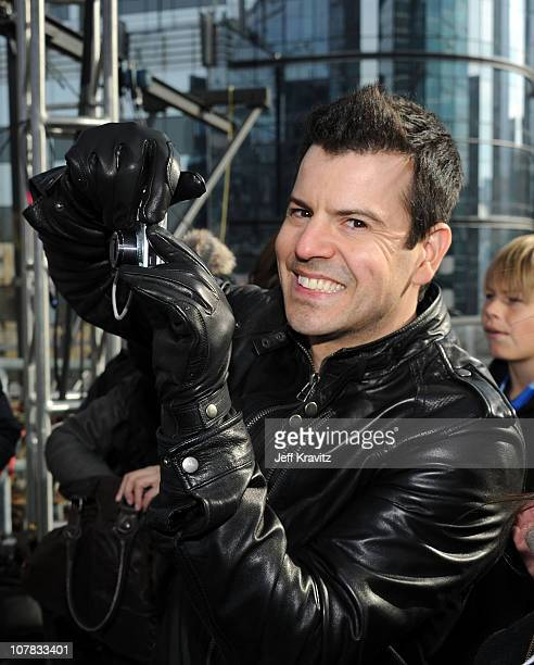 Jordan Knight of New Kids on the Block poses as New Kids On The Block And Backstreet Boys Prepare For Dick Clark's New Year's Rockin' Eve With Ryan...