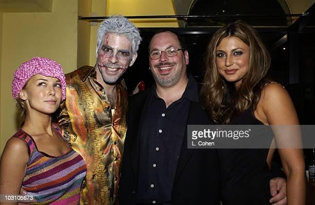 Jordan Ladd Cowriter / Director Eli Roth Lions Gate executive Peter Block and Cerina Vincent