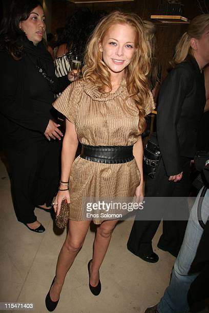 Jordan Ladd during HELP Malawi Foundation Launch Hosted By Lubov Azria Mena Suvari and Lori Leavitt Inside at Max Azria Boutique in Los Angeles...