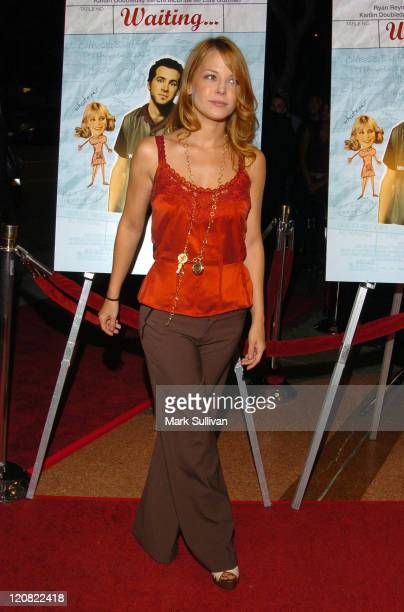 Jordan Ladd during 'Waiting' Los Angeles Premiere Arrivals at Mann's Bruin Theater in Westwood California United States