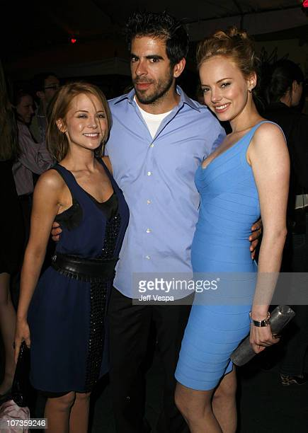 Jordan Ladd Eli Roth and Bijou Phillips *EXCLUSIVE*