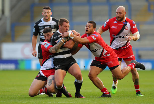 GBR: Hull FC v Salford Red Devils - Betfred Super League