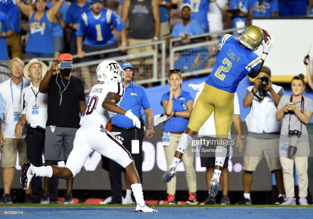 COLLEGE FOOTBALL: SEP 03 Texas A&M at UCLA : News Photo