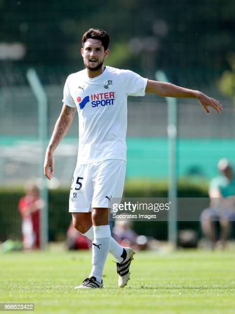 Jordan Lefort of Amiens SC during the Club Friendly match between Amiens SC v UNFP FC at the Centre Sportif Du Touquet on July 13 2018 in Le Touquet...