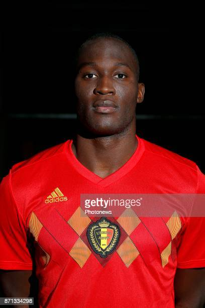 Jordan Lukaku defender of Belgium Official team picture during the photoshoot of the Red Devils at the national training center on November 07 2017...