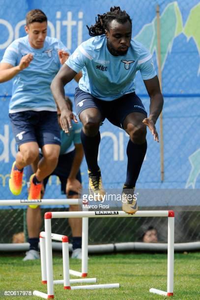 Jordan Lukaku during the SS Lazio PreSeason Training Camp on July 22 2017 in Pieve di Cadore Italy