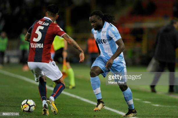Jordan Lukaku of SS Lazio during the Serie A match between Bologna FC and SS Lazio at Stadio Renato Dall'Ara on October 25 2017 in Bologna Italy