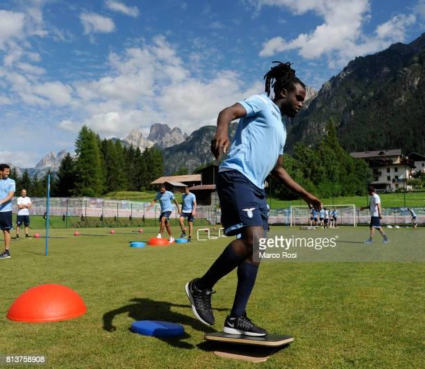 Jordan Lukaku of SS Lazio during the SS Lazio PreSeason Training Camp Day 4 on July 13 2017 in Pieve di Cadore Italy