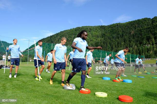 Jordan Lukaku of SS Lazio during the SS Lazio Training Camp on July 29 2017 in Walchsee Austria
