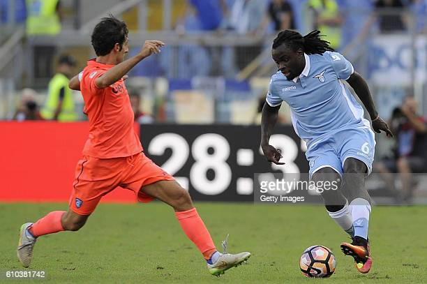 Jordan Lukaku of SS Lazio in action during the Serie A match between SS Lazio and Empoli FC at Stadio Olimpico on September 25 2016 in Rome Italy