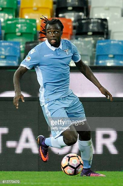 Jordan Lukaku of SS Lazio in action during the Serie A match between Udinese Calcio and SS Lazio at Stadio Friuli on October 1 2016 in Udine Italy