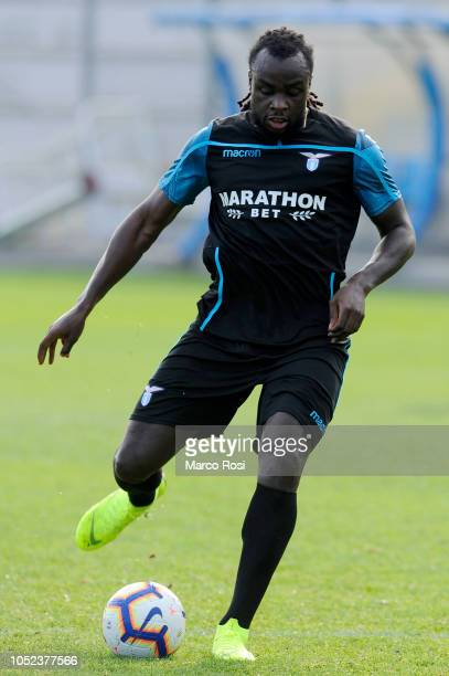 Jordan Lukaku of SS Lazio in action SS Lazio training session on October 17 2018 in Rome Italy