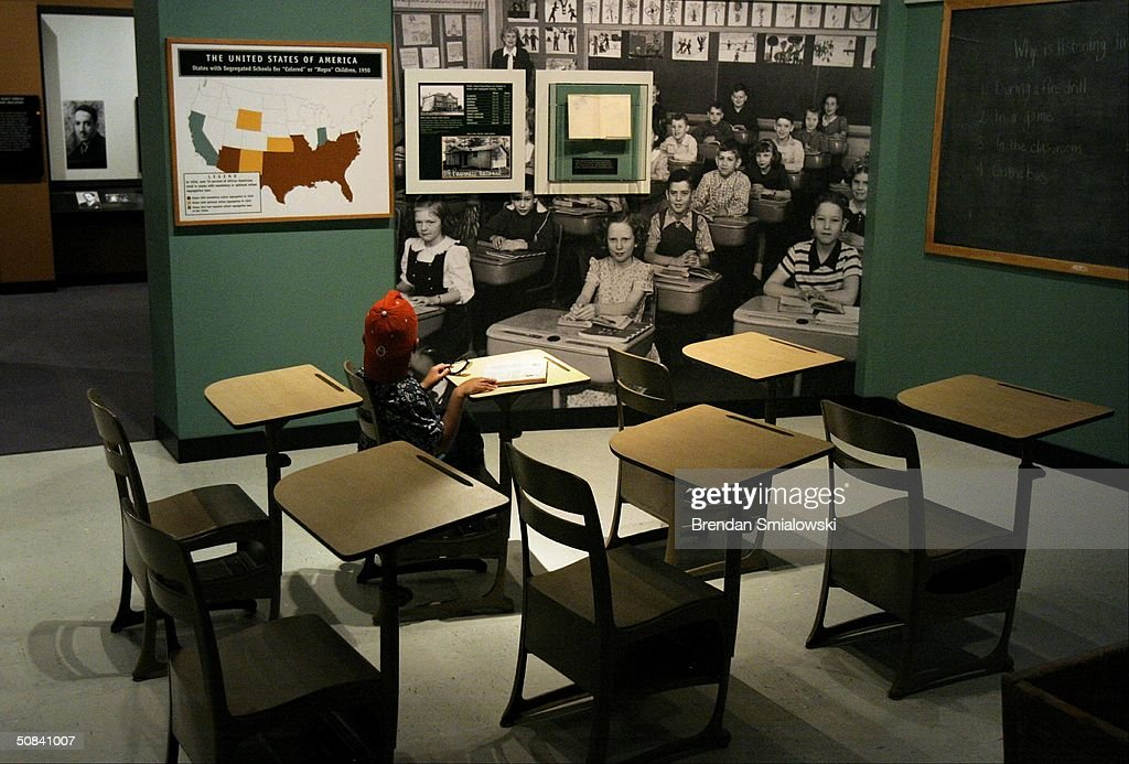 Smithsonsian Features Exhibit on Segregated America : News Photo