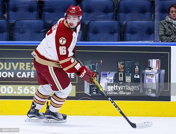 Jordan Maher of the Acadie-Bathurst Titan skates during his QMJHL hockey game at the Centre Videotron on November 9, 2016 in Quebec City, Quebec,...