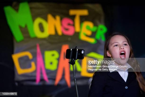 Jordan Maldonado plays Jade in Canyon Vista Elementary School's We are Monsters musical ///ADDITIONAL shot 032015 0326lnavmusical Students at Canyon...