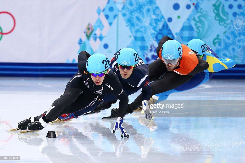 Short Track Speed Skating - Winter Olympics Day 6