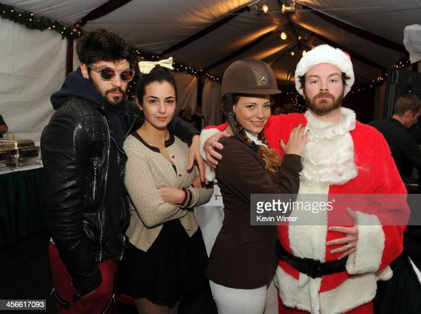 Jordan Masterson Alanna Masterson Bijou Phillips and Danny Masterson attend the Church of Scientology Celebrity Centre's 21st Christmas Stories at...