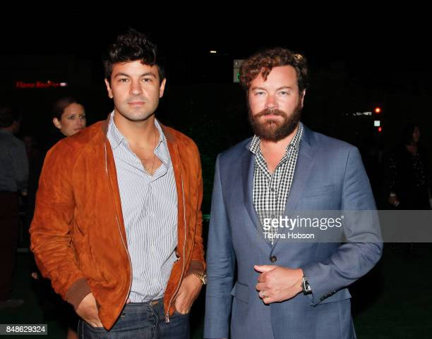 Jordan Masterson and Danny Masterson attend the premiere of Fox Searchlight Pictures 'Battle Of The Sexes' after party at Regency Village Theatre on...