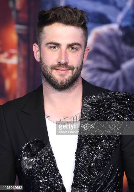 Jordan McGraw arrives at the Premiere Of Sony Pictures' Jumanji The Next Level on December 09 2019 in Hollywood California
