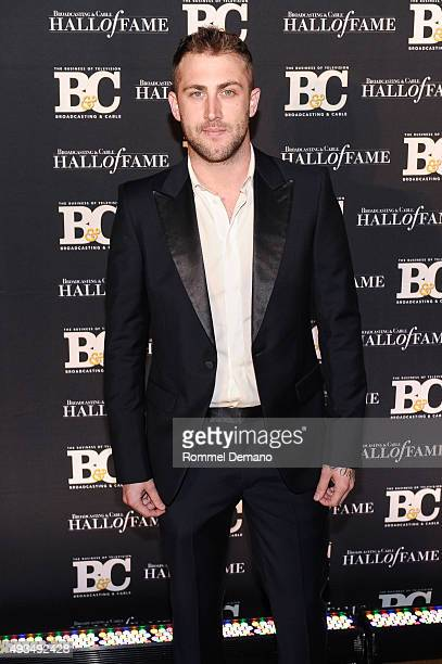 Jordan McGraw attends Broadcasting and Cable Hall Of Fame Awards 25th Anniversary Gala at The Waldorf Astoria on October 20 2015 in New York City