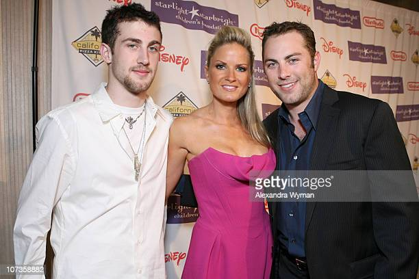 Jordan McGraw Erica Dahm and Jay McGraw during Starlight Starbright Children's Foundation's Annual A Stellar Night Gala Red Carpet at The Beverly...