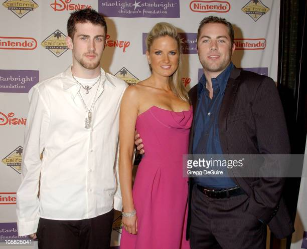 Jordan McGraw Jay McGraw and wife Erica Dahm during 2007 Starlight Starbright Children's Foundation Gala Arrivals at Beverly Hilton Hotel in Beverly...