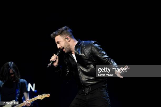 Jordan McGraw performs as an opening act during the Jonas Brothers Happiness Begins Tour at Prudential Center on November 22 2019 in Newark New Jersey