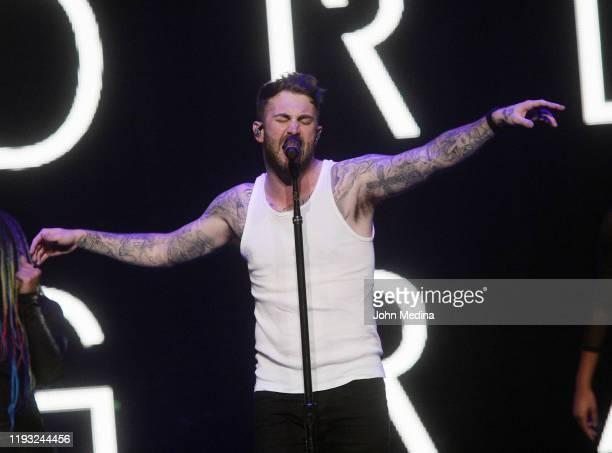 Jordan McGraw performs at Talking Stick Resort Arena on December 10 2019 in Phoenix Arizona