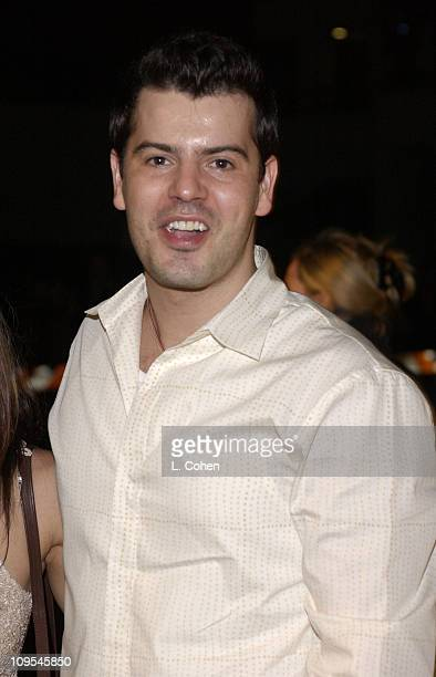 Jordan McKnight arrives at the grand opening of Jennifer Lopez's restaurant Madre's in Pasadena California April 12 2002