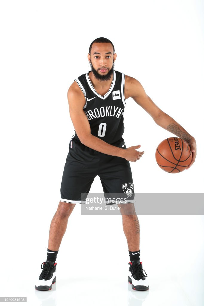 jordan mclaughlin of the brooklyn nets poses for a portrait during