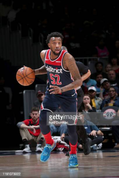 Jordan McRae of the Washington Wizards handles the ball against the Miami Heat on December 30 2019 at Capital One Arena in Washington DC NOTE TO USER...