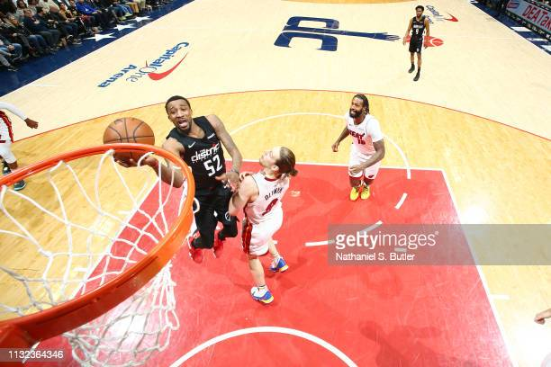 Jordan McRae of the Washington Wizards shoots the ball against the Miami Heat on March 23 2019 at Capital One Arena in Washington DC NOTE TO USER...