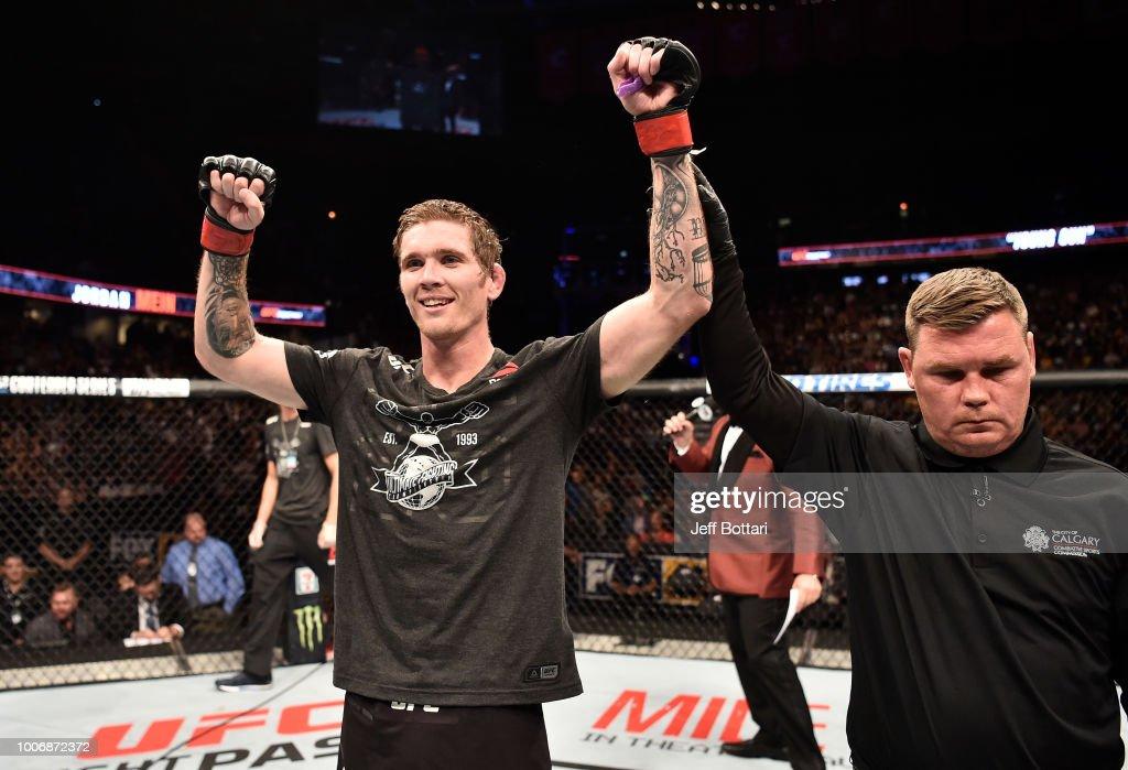 UFC Fight Night: Mein v Morono : News Photo