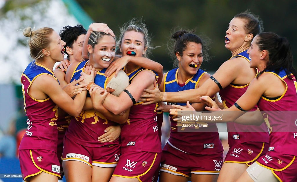 AFL Women's Rd 4 - Brisbane v GWS : News Photo