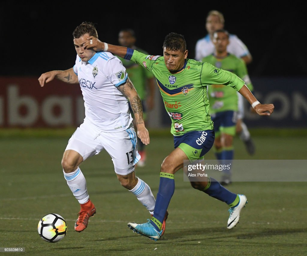 Santa Tecla v Seattle Sounders FC - CONCACAF Champions League 2018