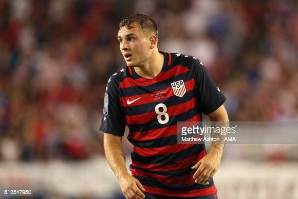 Jordan Morris of the United States looks on during the 2017 CONCACAF Gold Cup Group B match between the United States and Martinique at Raymond James...