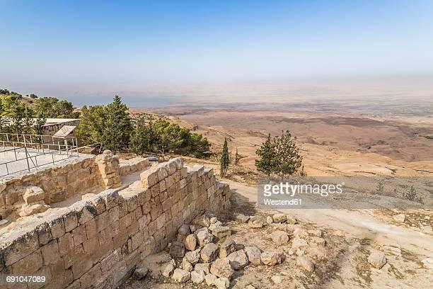 Jordan, Mount Nebo, View towards Jericho and Jordan Valley
