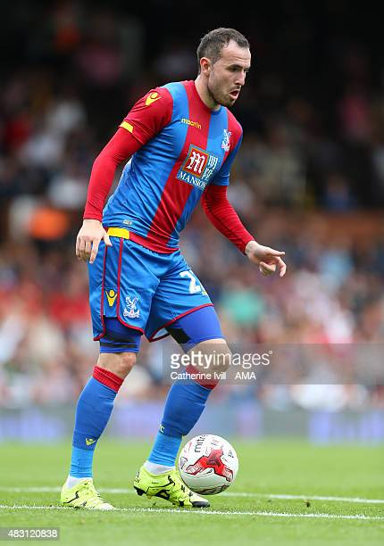 Jordan Mutch of Crystal Palace during the preseason friendly between Fulham and Watford at Craven Cottage on August 1 2015 in London England