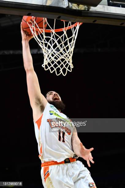 Jordan Ngatai of Cairns Taipans in action during the round 14 NBL match between the Sydney Kings and the Cairns Taipans at Qudos Bank Arena, on April...