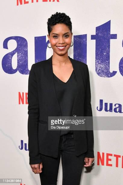 Jordan Nia Elizabeth attends the Juanita New York screening at Metrograph on March 07 2019 in New York City
