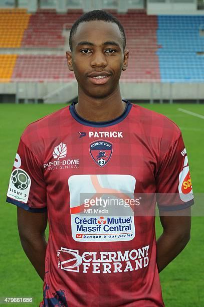 Jordan NKOLOLO Portraits officiels Clermont Ligue 2 Jean Paul Thomas / Icon Sport/MB Media