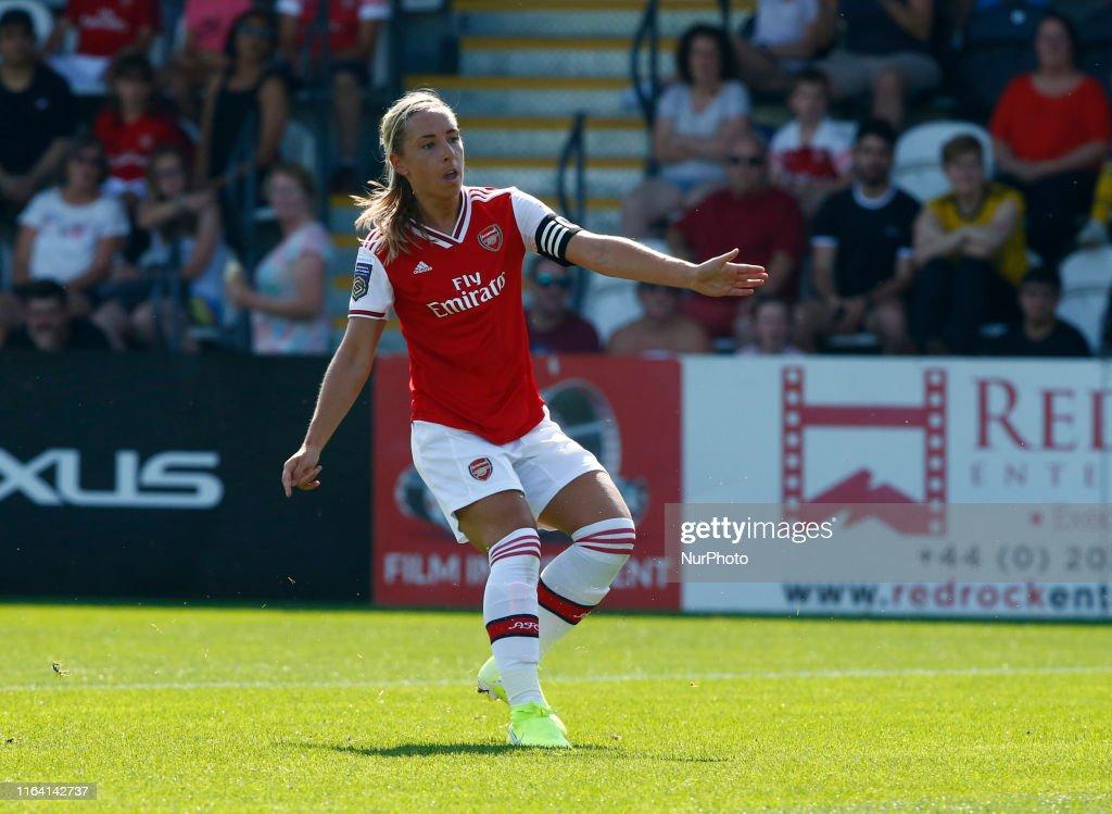 Arsenal Women v Tottenham Hotspur Women - Pre Season Friendly : News Photo