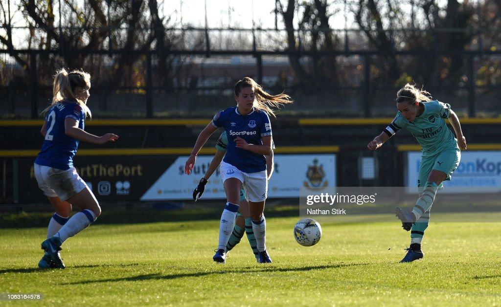 Everton Ladies v Arsenal - FA WSL : News Photo