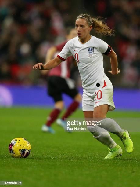 Jordan Nobbs of England Women during the International Friendly between England Women and Germany Women at Wembley Stadium on November 09, 2019 in...