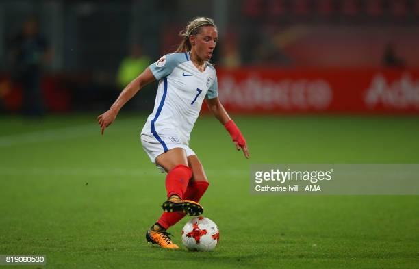Jordan Nobbs of England Women during the UEFA Women's Euro 2017 match between England and Scotland at Stadion Galgenwaard on July 19 2017 in Utrecht...